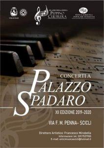 XII stagione dei Concerti a Palazzo Spadaro. Il programma 2019/2020