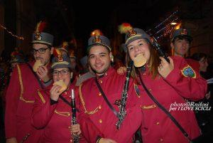 Canzoncine con la banda musicale di Scicli-foto Rosalba