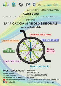 1^ Caccia al tesoro sensoriale a Scicli per celebrare la giornata della disabilità