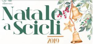 Natale a Scicli 2019. Il cartellone del Comune di Scicli