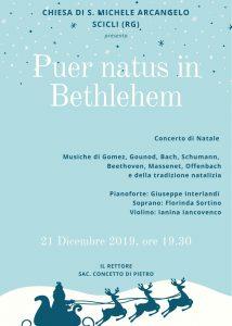 Il 21 dicembre Concerto di Natale a S.Michele