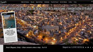 D&G Scicli tra le città più romantiche