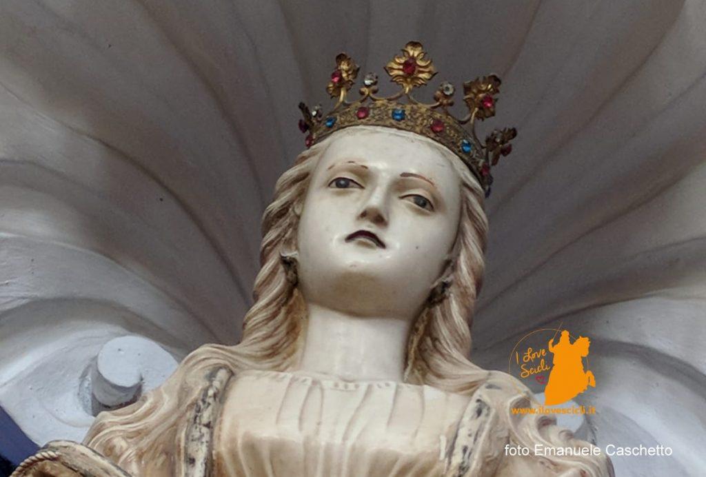 San Giuseppe statua di Sant'Agrippina (foto Emanuele Caschetto)