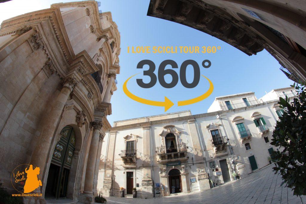 chiese e monumenti di Scicli a 360°