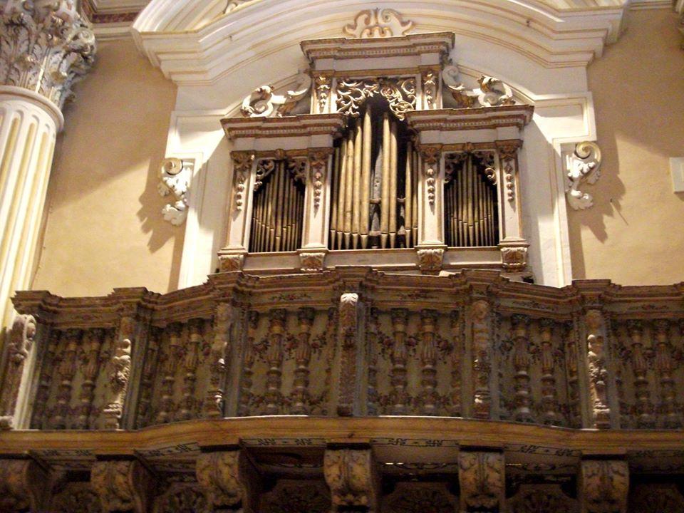 organo a canne chiesa madre Scicli