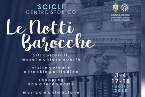 Notti Barocche a Scicli il 3-4 e 17-18 luglio. Programma dettagliato