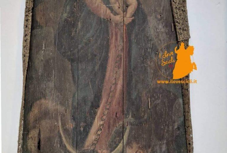 Inaugurazione opere restaurate: Madonna della Catena e volto di Cristo.