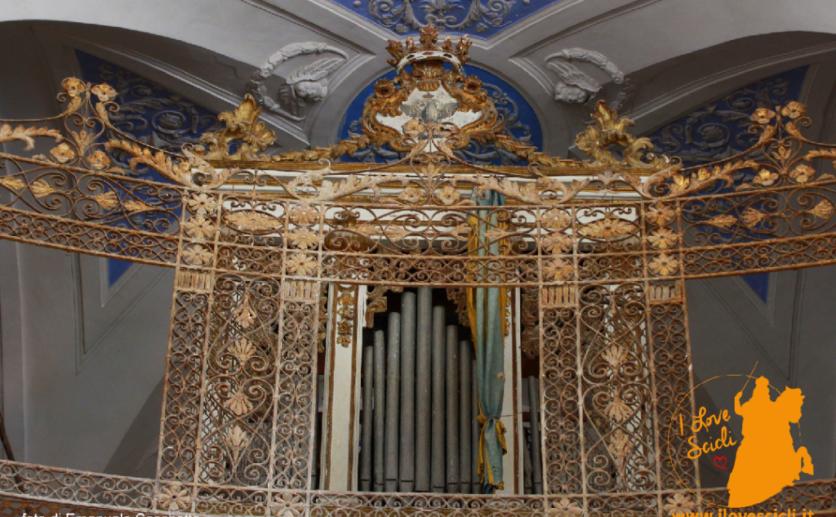 L' organo a canne della chiesa di San Giovanni di Scicli