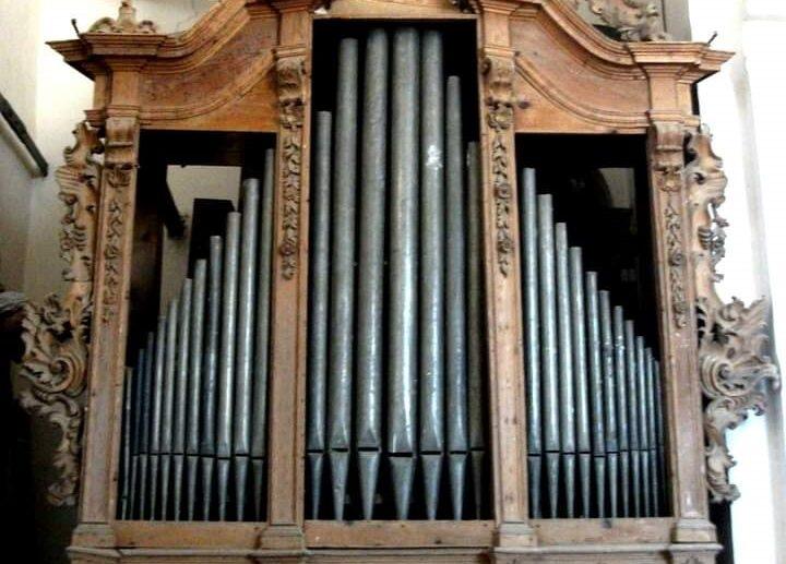 L' organo a canne della chiesa del Carmine di Scicli
