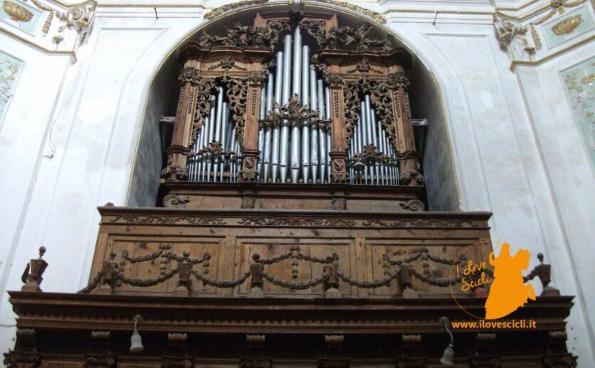 L' organo a canne della chiesa di Santa Maria della Consolazione di Scicli