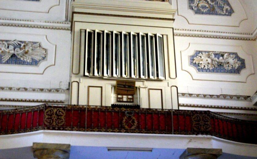 L' organo a canne della chiesa di San Bartolomeo a Scicli