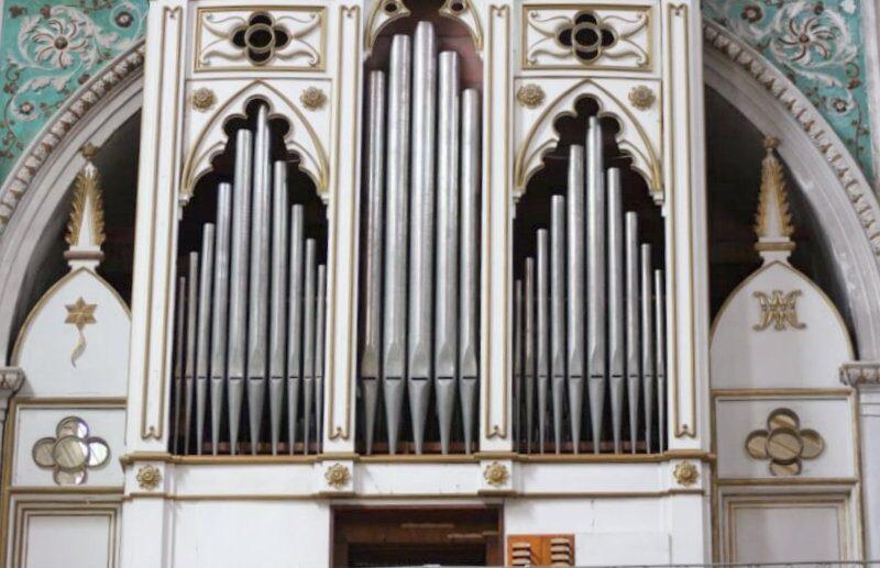 L' organo a canne del Santuario di S.M. La Nova di Scicli